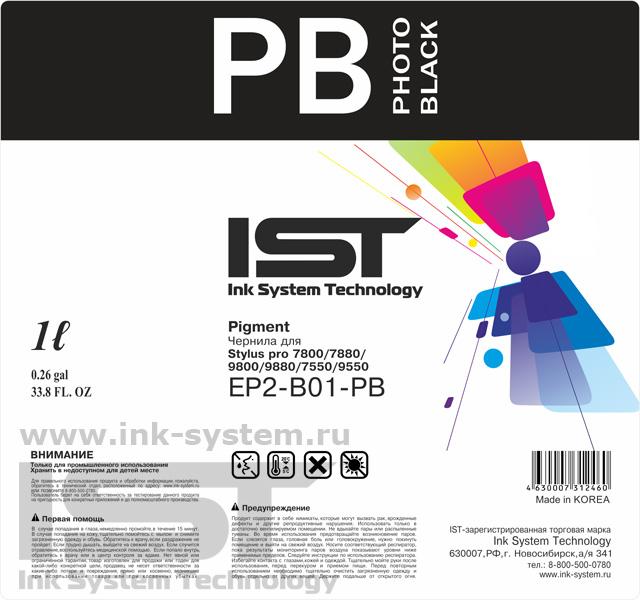 Чернила IST EP2-B01-PB